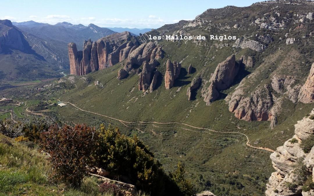 séjour en Aragon aux Mallos de Riglos mai 2016.
