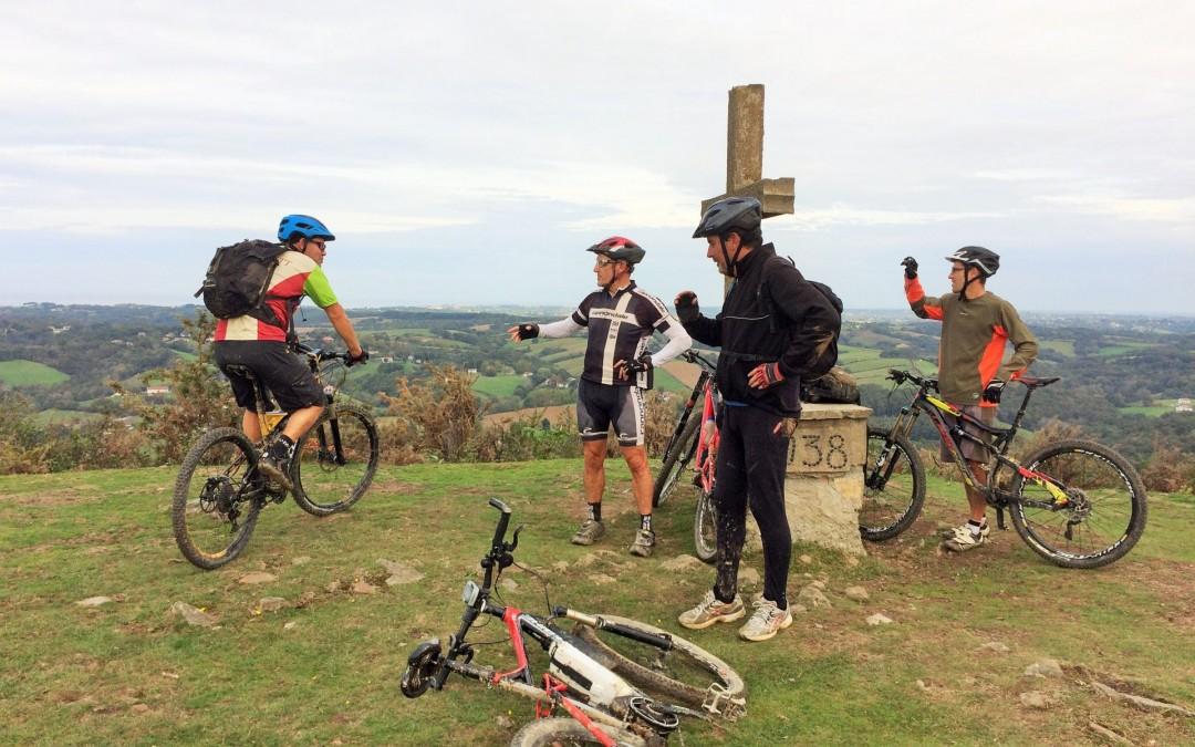 Rando au départ de Saint-Pée-sur Nivelle sur les hauteurs de Sare et Ascain
