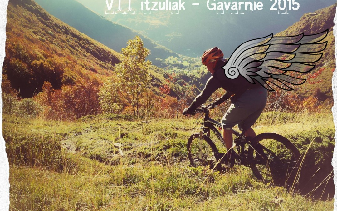 VTT Itzuliak à Gavarnie  Octobre 2015.